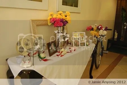 brother's wedding reception