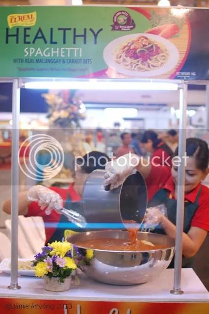 URC El Real spaghetti booth