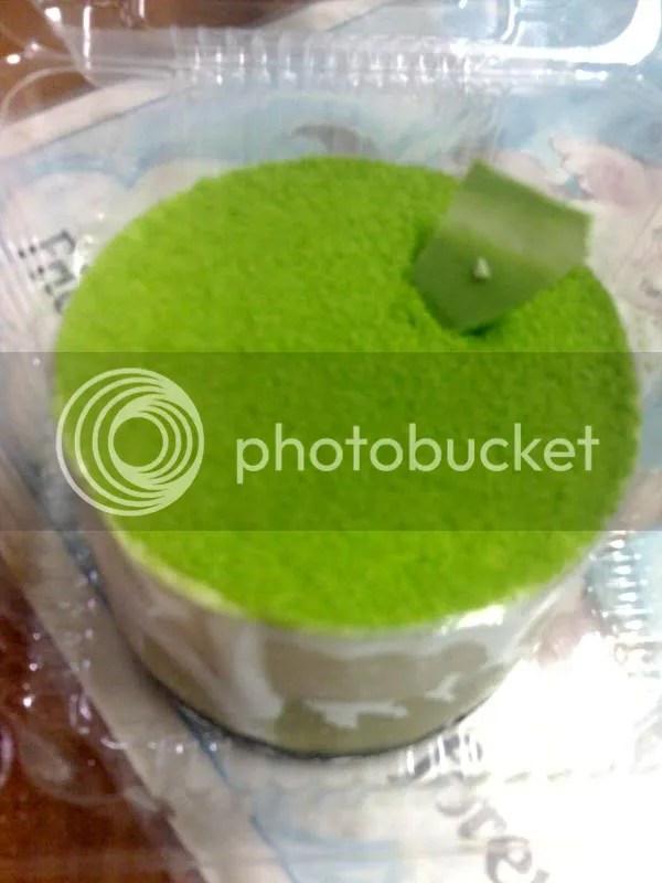 KOZUI_green tea cheesecake