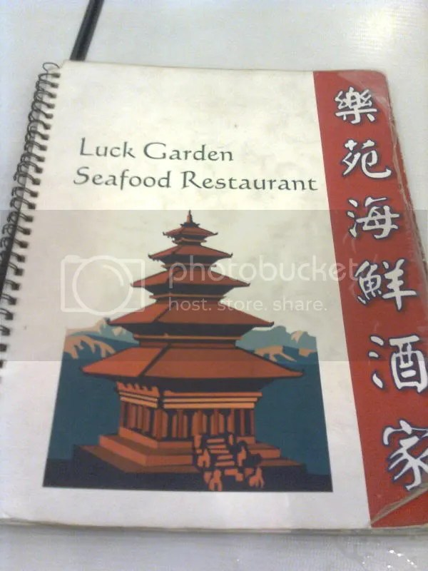 LUCK GARDEN_logo and menu