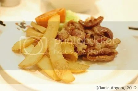 Macau Restaurant_salted pork with potatoes