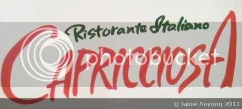 CAPRICCIOSA logo