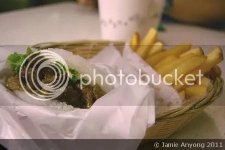SANGO_Yakiniku rice burger