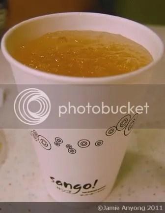 SANGO_cold honey ginger tea