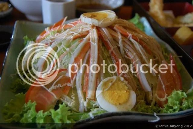 Seryna_kani salad