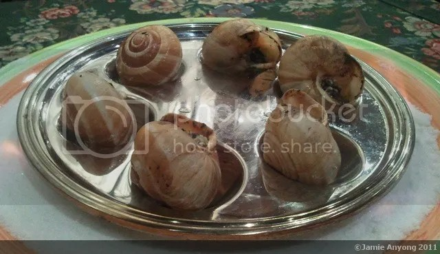 Ma Maison_escargot with garlic and butter