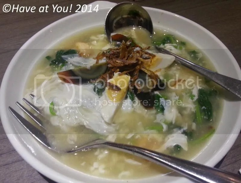 BOON TONG KEE_Poached Chinese Spinach with Assorted Eggs photo spinachwith3kindsofeggs_zps4bffcefc.jpg