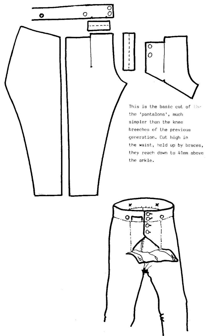 Pantalon de Tricot (dit de Parade)