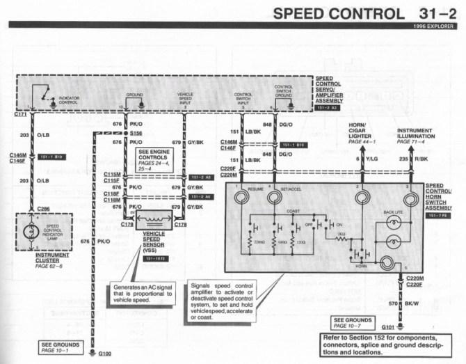 wiring diagram for 1995 explorer  center wiring diagram