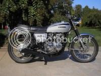 1971 CB500/4... an evolution...