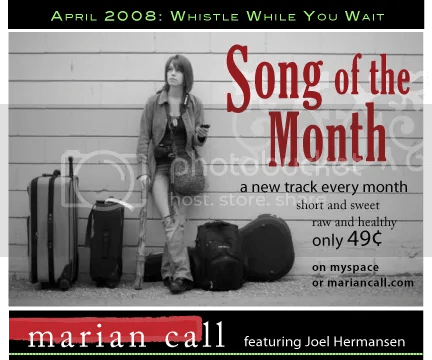 Marian Call Song of the Month April