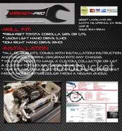 ae86 sr20det swap mount kit dr concept 1986 toyota corolla gts ae86 ae86 sr20det wiring [ 1024 x 1024 Pixel ]