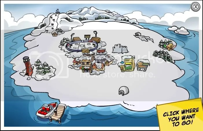 ClubPenguinMap.jpg Club Penguin Map image by Darkpenx