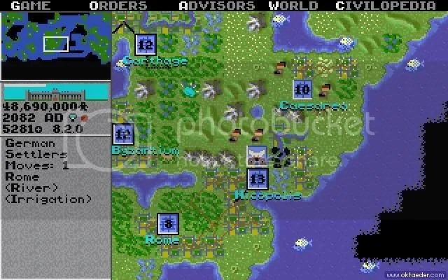 Civilization 1 Screenshot