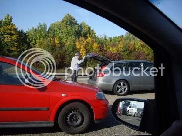 Avoid delays, take the car... er...