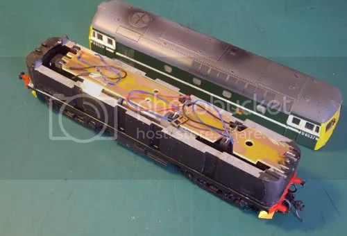 HO Class 33 and Chassis