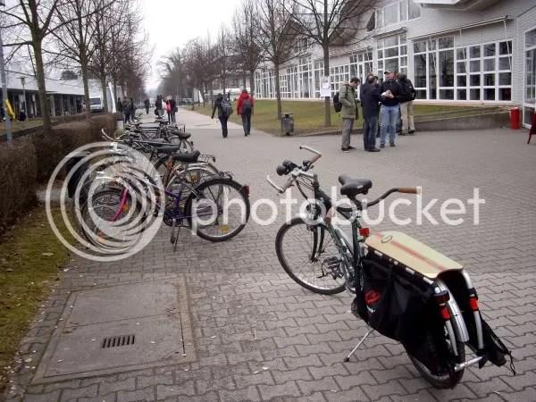 Bikes, bikes and more bikes...