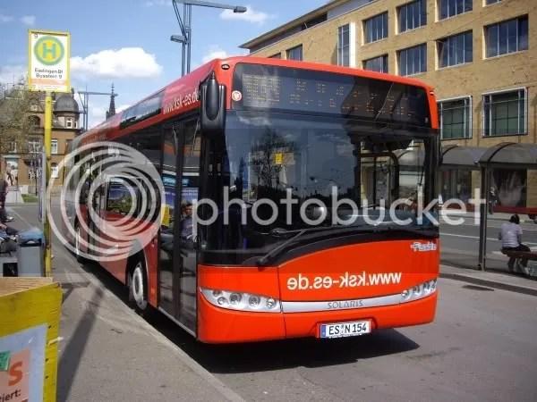 Solaris Bus in Esslingen