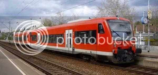 Normal railcars. Notice low floor and wide doors