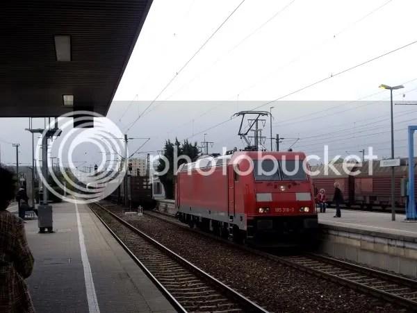 Dissappearing train