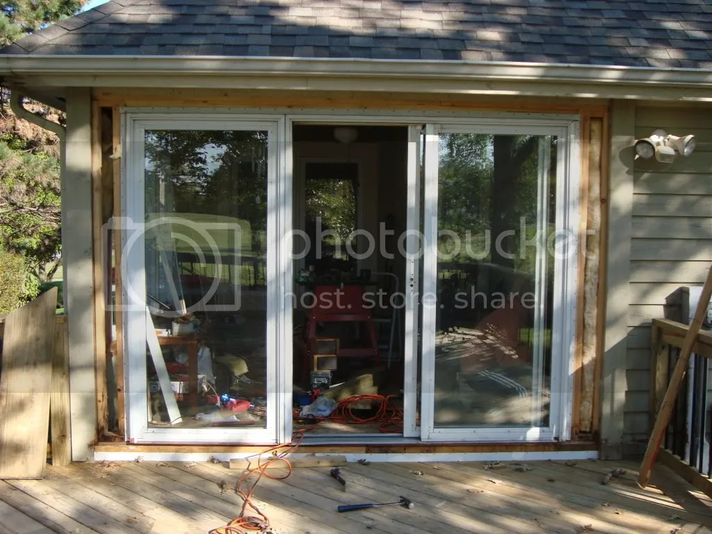 Patio Door Installation Question  Building  Construction  DIY Chatroom Home Improvement Forum