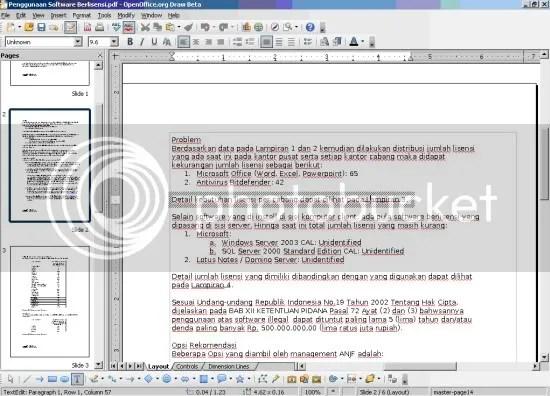 Edit PDF dengan OpenOffice 3