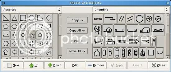Dia object sheet editor