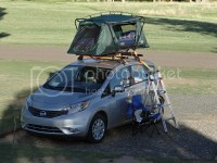 Camping with the Versa - Nissan Versa Forums