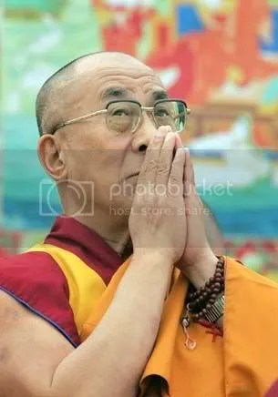 Namaste Dalai Lama coaching triathletes