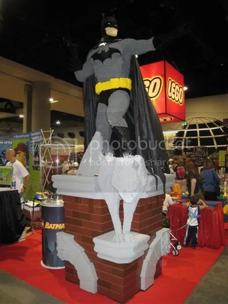 Amazing LEGO Sculptures at ComicCon 2007