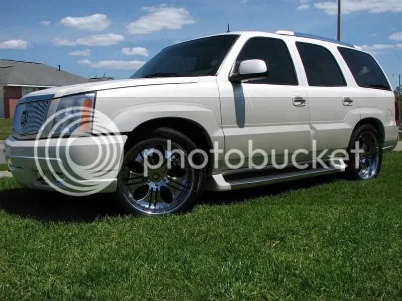 2004 Cadillac Escalade Esv Lowered