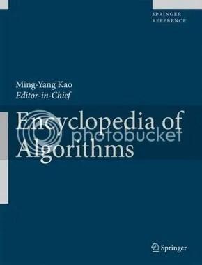 Encyclopedia of Algorithms - Ming-Yang Kao