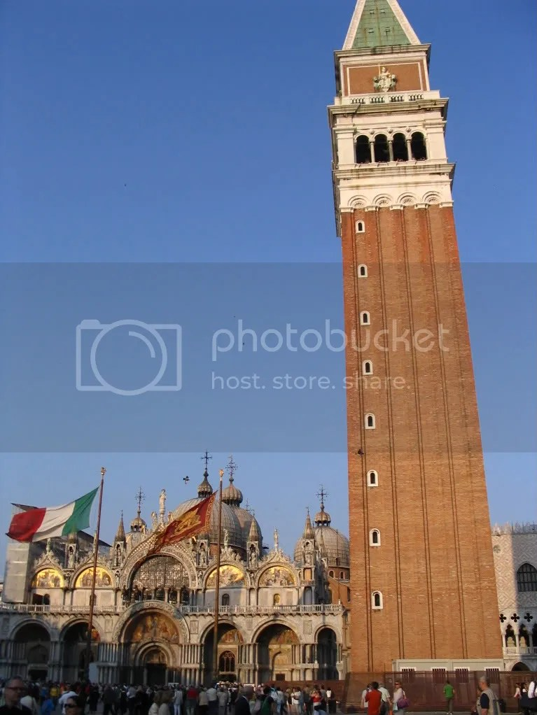 Belltower at St. Mark's Square