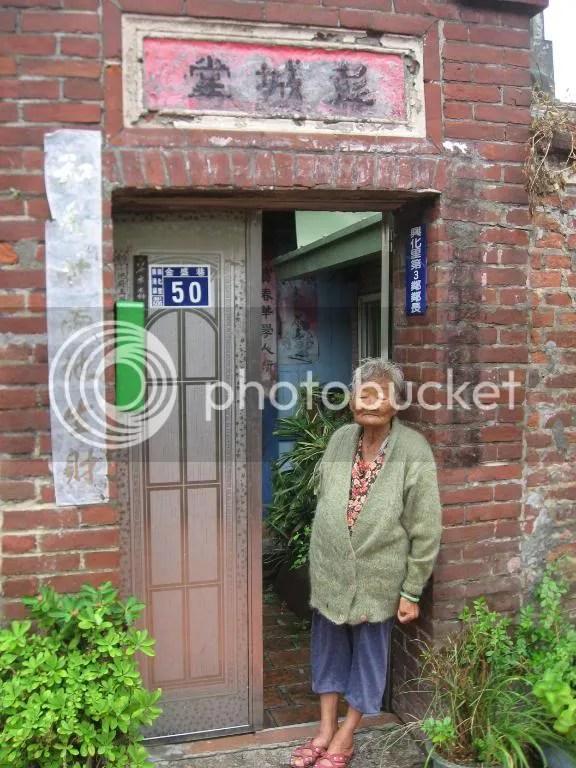 A grandma in Lukang