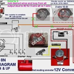 8n Ford Tractor Wiring Diagram 12 Volt 0 Gauge Wire For And No Fire, - 9n, 2n, Forum Yesterday's Tractors