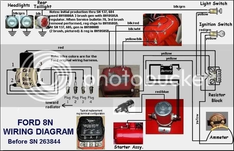 1956 Ford Generator Wiring Diagram