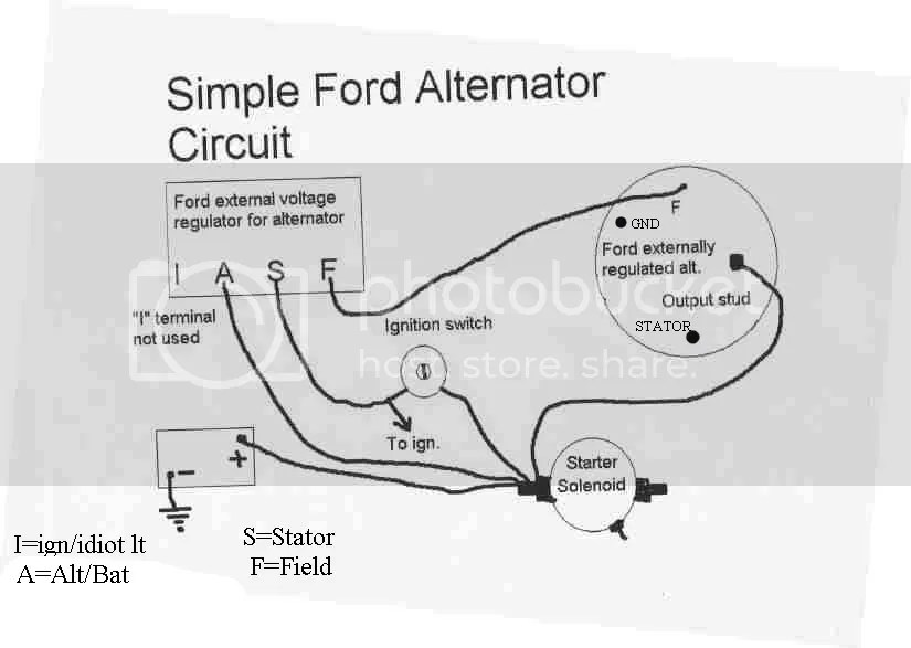 delco alt wiring diagram ballast diagrams 12v system not charging - ford 9n, 2n, 8n forum yesterday's tractors