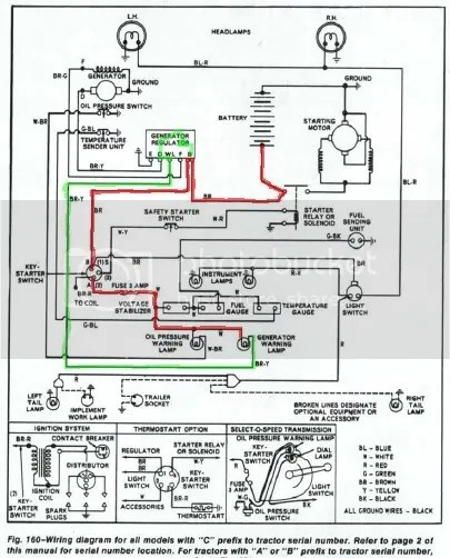 Ford 3600 Sel Tractor Wiring Diagram Ford Tractor
