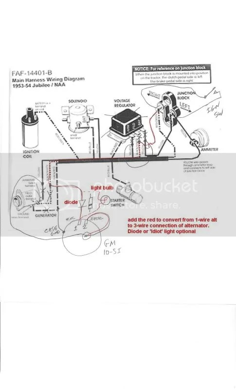 1952 Ford Tractor 8n 6 Volt Wiring Diagram, 1952, Get Free