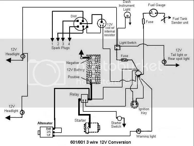 Ford 3000 Tractor Wiring Diagram Light