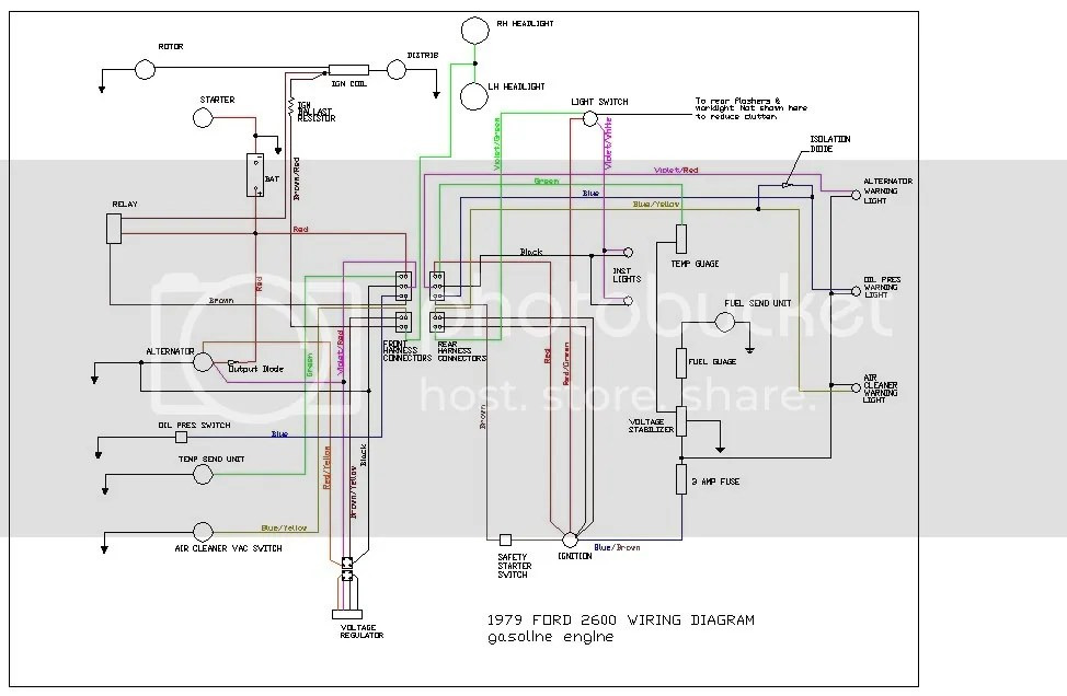 Wiring Diagram For A Ford Tractor 3930