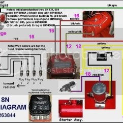 Ford 8n 12v Conversion Wiring Diagram 2007 Hyundai Accent Radio 9n 6 Volt Data Schema