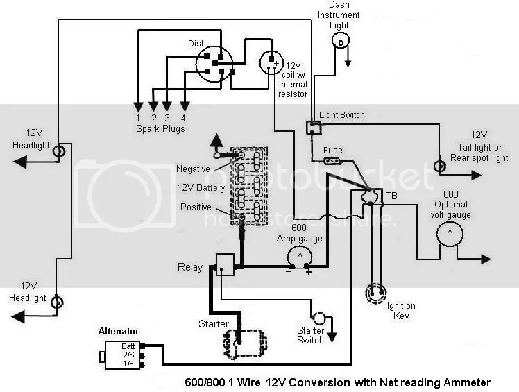 Wiring Diagram For Ford 8N