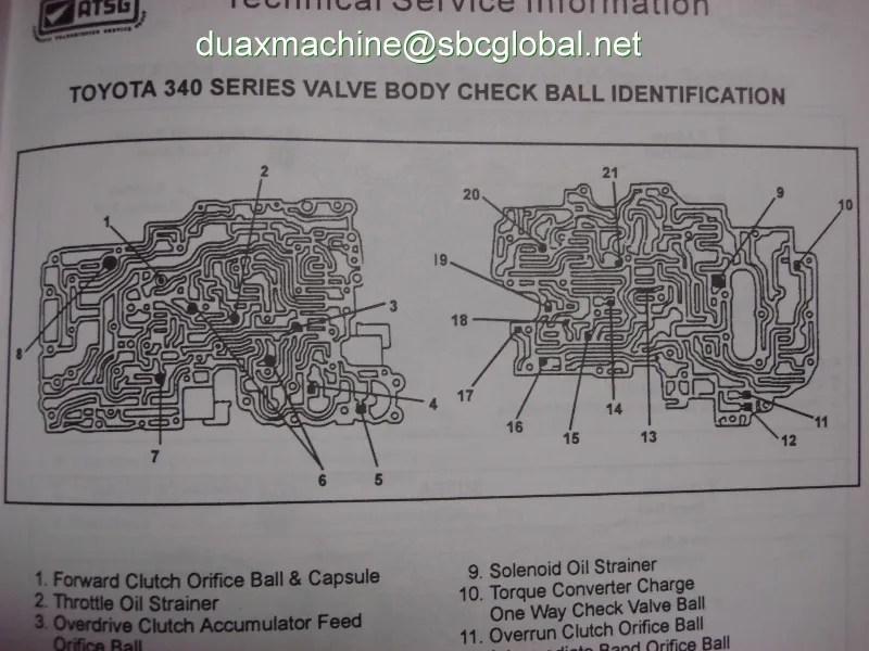 th400 transmission diagram 2001 toyota corolla serpentine belt a340e check ball placement 1/6 photo by duaxmachine   photobucket