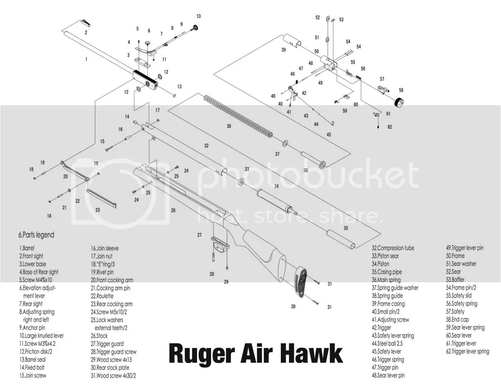 Information On A Ruger Airhawk Take Apart