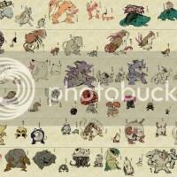 Pokémon para quem gosta de arte oriental