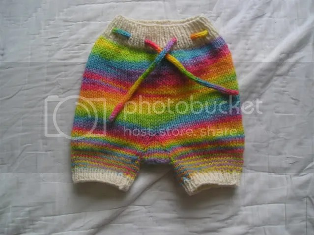 Rainbow shorties