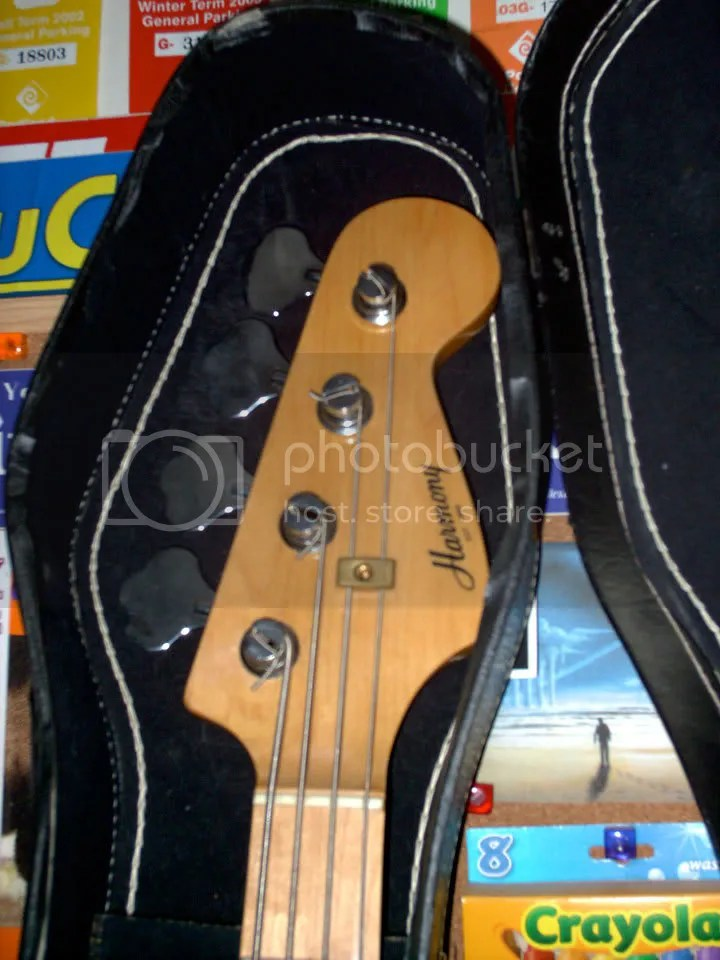 Harmony Bass Headstock