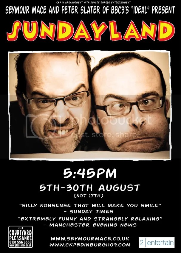 Sundayland Poster designed by Ian Fox