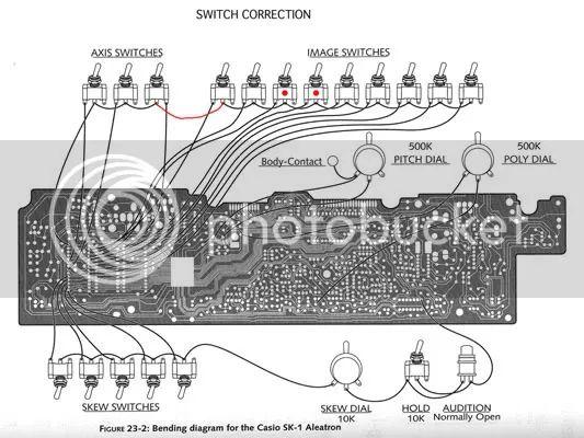 circuit bent casio sk5 sampled